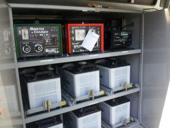 工場・プラントの検査車両向けのカスタムリチウムイオン電池