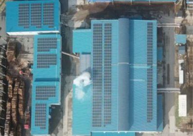 廃棄物リサイクル工場