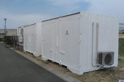 産業用大型カスタム蓄電池 開発