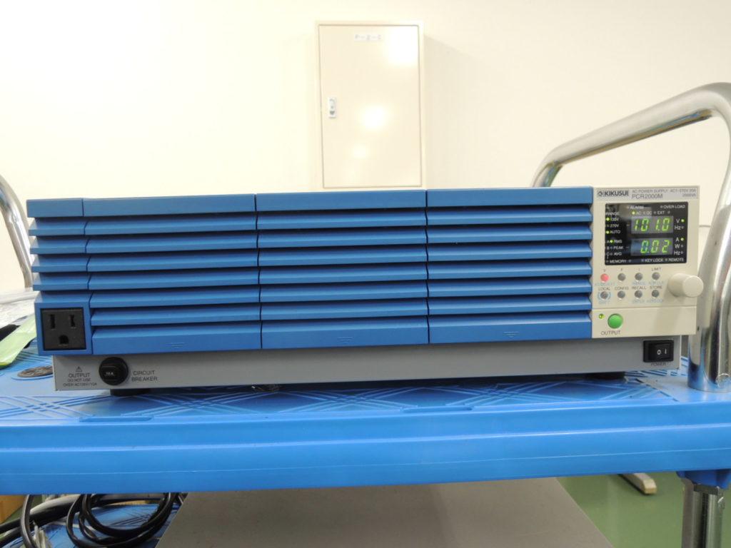 単相交流電源装置 PCR2000M