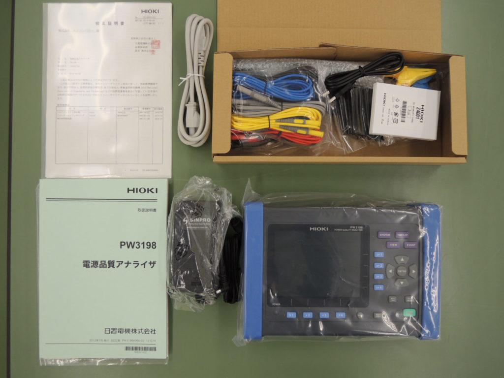電源品質アナライザ PW3198