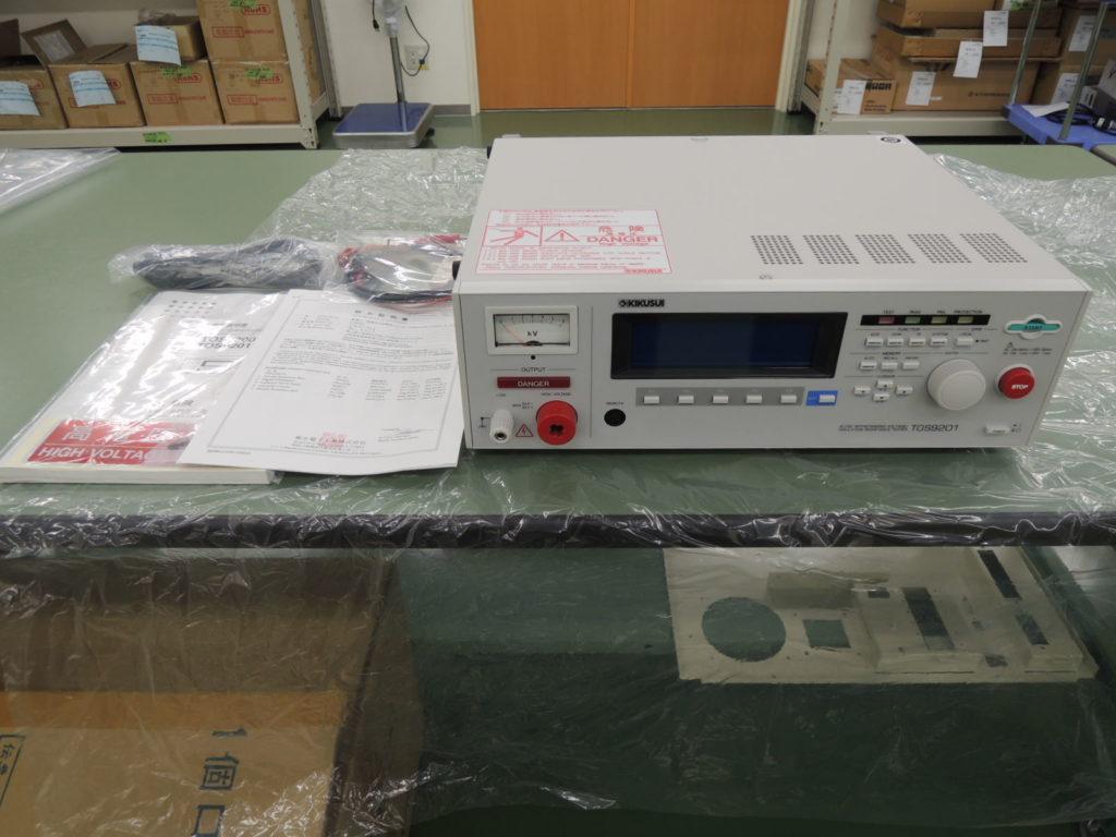 耐電圧・絶縁抵抗試験器 TOS9201