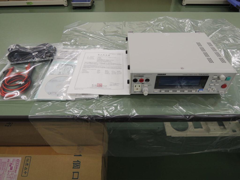 リーケージカレントテスタ TOS3200