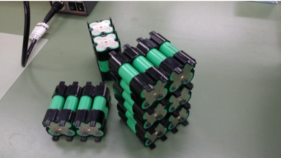 単電池を複数個組み合わせたモジュール